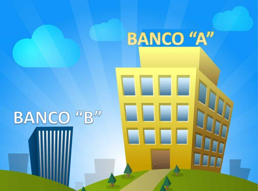 Banco bueno y banco malo
